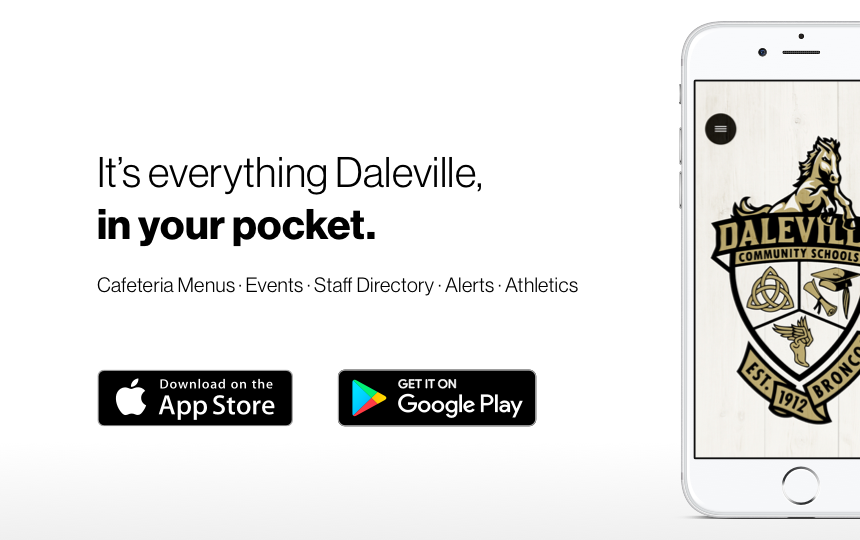 Download the Daleville App!