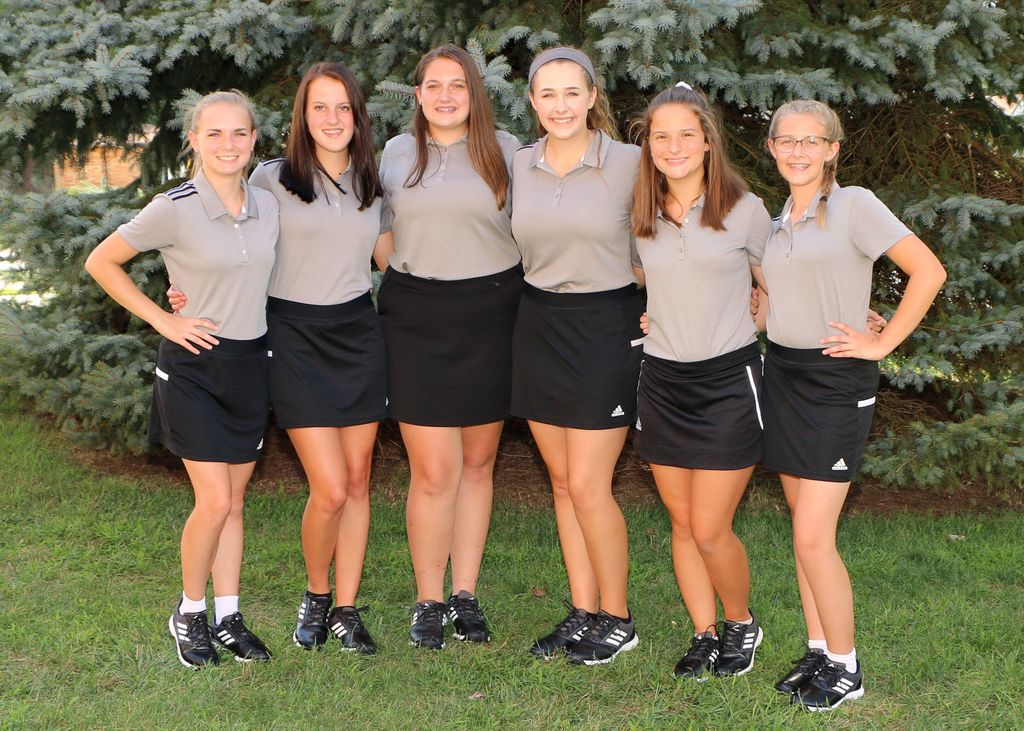 Girls Golf Team GPA 4.32