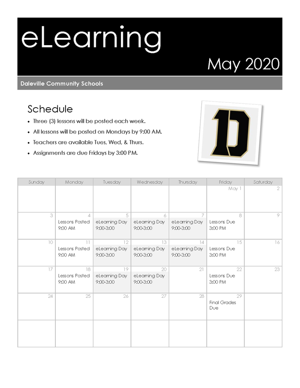 May eLearning Calendar